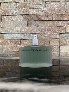 Laura Biagiotti Roma Uomo Eau de Toilette Cedro 75ml EDT Brand New