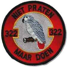 F-16 NETHERLANDS AIR FORCE RNLAF 322ND SQN POLLY PARROT