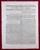 Saint Cyr du Gault en 1791 Loir et Cher L'ami des Noirs Esclavage Morbihan