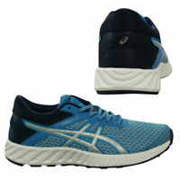 Asics FuzeX Lyte 2 Womens Low Top Lace Up Blue Trainers T769N 4393 X36B