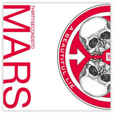 "30 seconds to Mars A Beautiful Lie sticker decal 4"" x 4"""