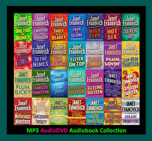 The STEPHANIE PLUM Series By Janet Evanovich  (30 MP3 Audiobook Collection)