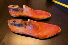 Pair of Rutgers Wood Shoe Lasts Size 11 1/2 US