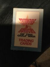 1991 Triumphs & Horrors of The Gulf War factory sealed trading card set