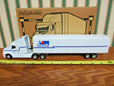 AIM National Lease Freightliner Semi With Van Trailer By Ertl 1/64th Scale