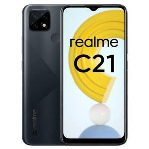 """REALME C21 CROSS BLACK 32GB ROM 3GB RAM DUAL SIM ANDROID DISPLAY 6.5"""""""