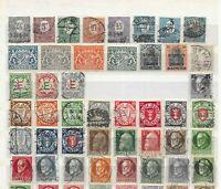 Vintage Stamp collection / German States / Saar / Bavaria / Danzig / Overprints