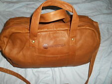 ZIMMERMAN LEATHER Large Men's Weekend Gym DUFFLE HAND Bag  WITH SHOULDER Strap