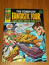 FANTASTIC FOUR THE COMPLETE #9 MARVEL BRITISH WEEKLY 23RD NOVEMBER 1977