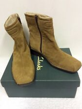 BRAND NEW K SOFTEES MALATI SAND SUEDE ANKLE BOOTS SIZE 6.5/ 39.5
