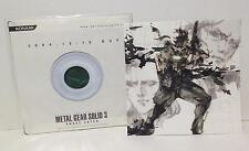 METAL GEAR SOLID 3 SNAKE EATER Pamphlet TGS2004 / like Art Book