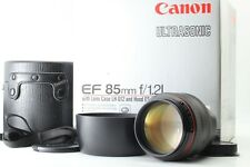 """Top Mint+++ in Box"" CANON EF 85mm f1.2 L USM Portrait Lens For EF Mount JAPAN"