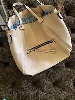 Urban Expressions Soft Pink Bag Vegan Leather  Handbag Purse Tote NWOT