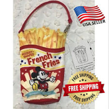 Tokyo Disney Resort Limited Mickey French Fries pencil case Tdr Japan Authentic