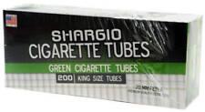 Shargio Green Menthol King Size - 3 Boxes - 200 Tubes Box Tobacco Cigarette