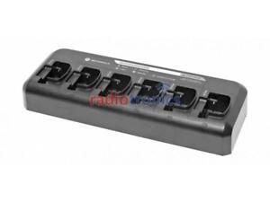 Genuine Motorola CP040 & DP1400 6-Way Charger PMLN6600A NNTN8351A NNTN8355A