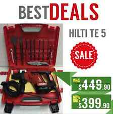 HILTI TE 5 GREAT CONDITION, STRONG, DURABLE, FREE BITS, FAST SHIPPING