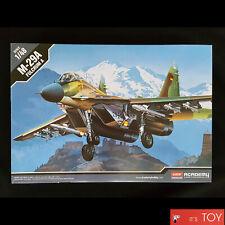 Academy 1/48 MIG-29A FULCRUM A FA086 Soviet Aircraft Plastic model kit # 12263