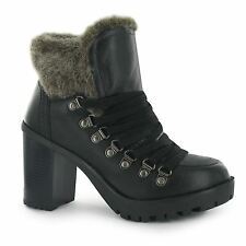 Firetrap 100% Leather Lace Up Boots for Women