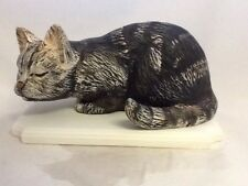 Tierurne, Katze  ca. 0,8 Liter, Handarbeit, Tier Urne,  Katze