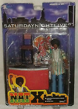 "Saturday Night Live Action Figure SNL NAT X 2000 Series 1 X-Toys 6"" Chris Rock"