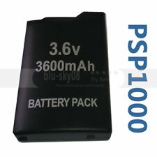 3.6v 3600 Mah Replacement Battery Pack For Sony PSP-1001 PSP 1000