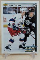 KEITH TKACHUK 1992-93 Upper Deck Star Rookie RC # 419 Winnipeg Jets