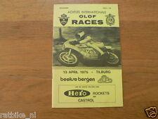 1975 INTERNATIONALE OLOF RACES CIRCUIT BEEKSE BERGEN TILBURG 13-4-1975,HARTOG