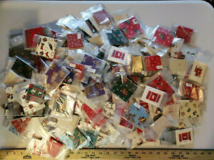 Lot-1654 1500+ Handcrafted Gift Tags Fabric/Papercraft