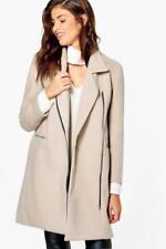 Abrigos y chaquetas de mujer de color principal gris con lana