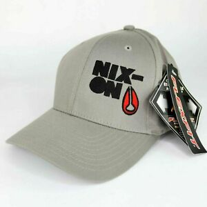 Flexfit Nixon Put-On Cap Grey Black Size S/M