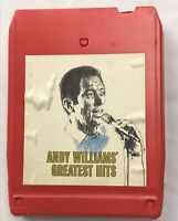 ANDY WILLIAMS GREATEST HITS  VINTAGE 8 Track 18 10 0870