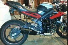 TRIUMPH STREET TRIPLE 2013/16 EXHAUST FURORE NERO BY GPR EXHAUSTS ITALY