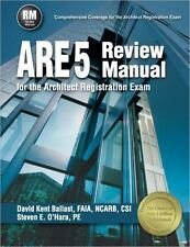 ARE 5 Review Manual for the Architect Registration Exam by Steven E. O'Hara and