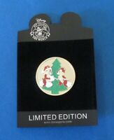 Disney Trading Pin DS - Christmas Golden Holiday Coin Series -  Chip and Dale LE