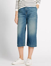 Marks and Spencer Wide Leg Jeans for Women