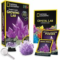 National Geographic Crystal Growing Lab Kit Purple