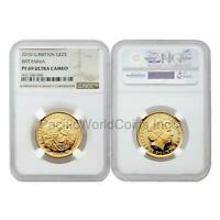 Great Britain 2010 Britannia 25 Pounds 1/4 oz Gold NGC PF69 ULTRA CAMEO