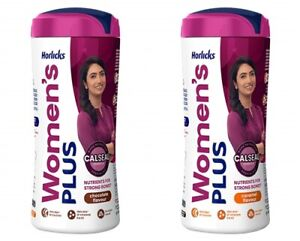 Horlicks Women's Plus Caramel, Chocolate Flavour Nutrients Strong Bones 400 gm