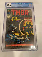Thor 134 8.5 CGC White Pages 1st High Evolutionary