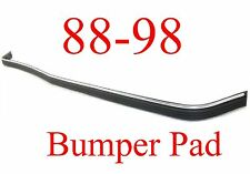 88 98 Chevy Gmc Front Bumper Pad Strip W/ Chrome Impact Strip Truck Tahoe Yukon