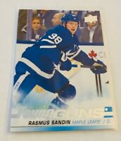 B1,889 -  2019-20 Upper Deck #222 Rasmus Sandin Young Guns Rookie
