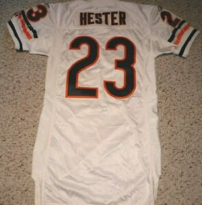 CHICAGO BEARS DEVIN HESTER AUTHENTIC GAME CUT JERSEY 2009 CHICAGO BEARS 09-46
