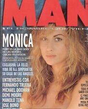 MAN # 98 / MONICA PONT Poster NATASHA HENSTRIDGE SUSANA DE CASTRO DEMI MOORE