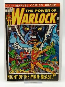 Warlock #1 Marvel Comics Night of the Man-Beast COMBINED SHIPPING!