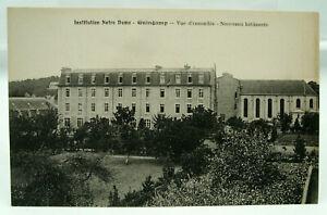 CPA - Guingamp - Institution Notre Dame. Vue d'ensemble. Nveaux bâtiments - TTBE