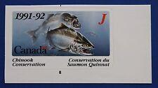 Canada (CNSC03J) 1991 Salmon Conservation Stamp (MNH)