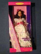 Puerto Rican Barbie Doll - Dolls of the World Collection -Collector Edition 1996