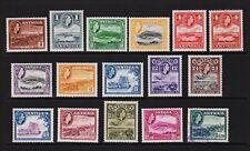 Antigua - 1953 QE2 set, cat. $ 84.70
