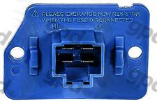 HVAC Blower Motor Resistor fits 2002-2011 Hyundai Accent  GLOBAL PARTS